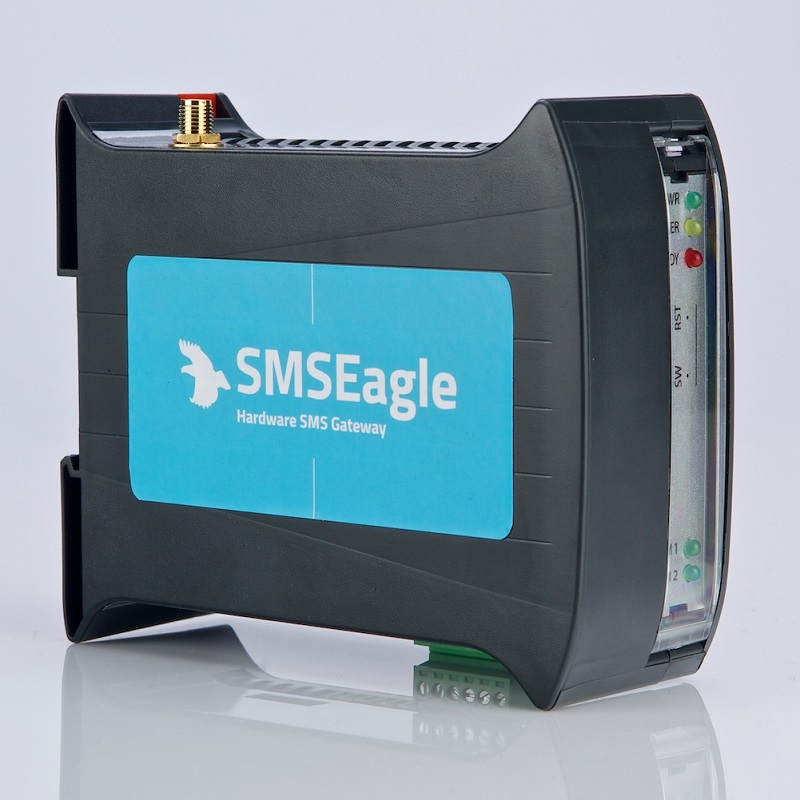 SMSEagle NXS-9700-3G & 8-port modem pool